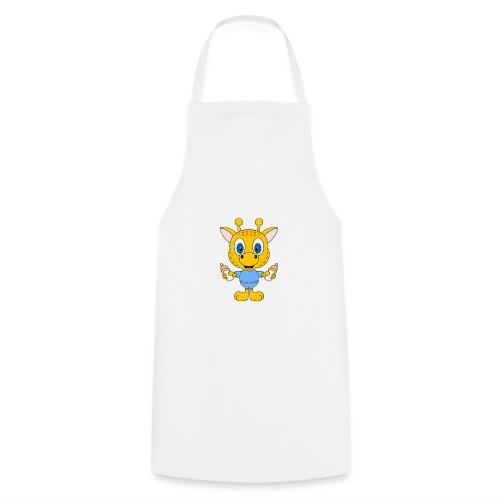 Lustige Giraffe - Baby - Geburt - Tier - Milch - Kochschürze