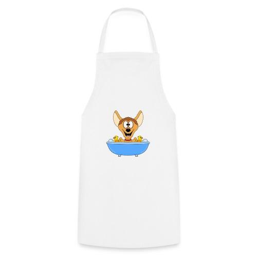 Lustige Hyäne - Badewanne - Kinder - Baby - Fun - Kochschürze