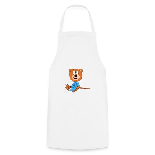 Lustiger Teddy - Bär - Hexe - Kind - Baby - Fun - Kochschürze