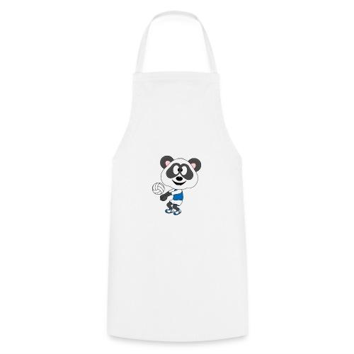 Lustiger Panda - Bär - Volleyball - Sport - Fun - Kochschürze