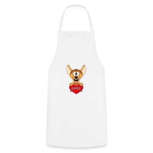 Lustige Hyäne - Herz - Liebe - Love - Tier - Fun - Kochschürze