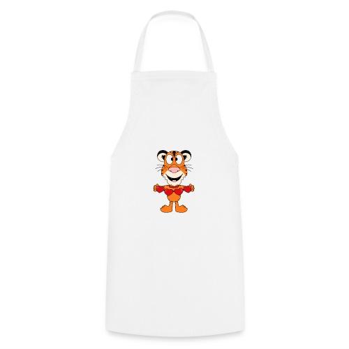 Lustiger Tiger - Herzen - Liebe - Love - Fun - Kochschürze