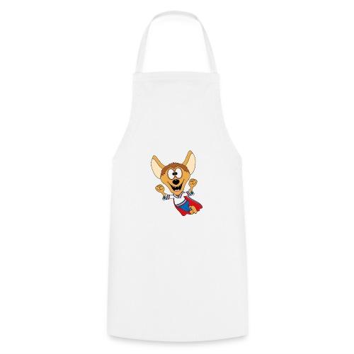 Lustige Hyäne - Superheld - Kind - Baby - Tier - Kochschürze
