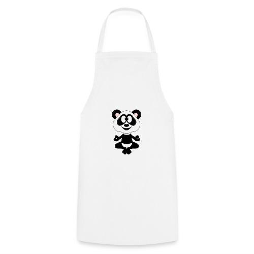 Panda - Bär - Yoga - Chillen - Relaxen - Tierisch - Kochschürze
