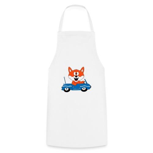 Fuchs - Auto - Cabrio - Tier - Führerschein - Fun - Kochschürze