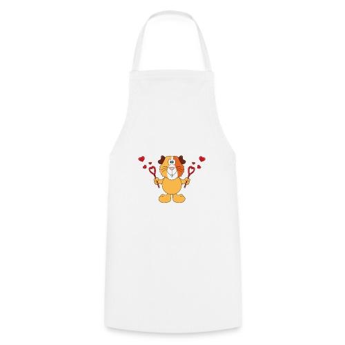 Meerschweinchen - Seifenblasen - Herzen - Liebe - Kochschürze