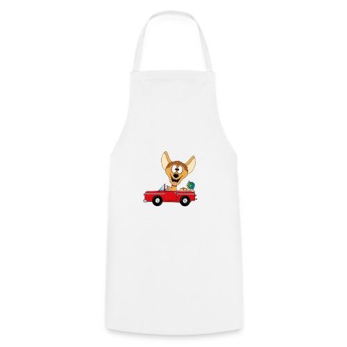 Hyäne - Auto - Reise - Urlaub - Tierisch - Fun - Kochschürze