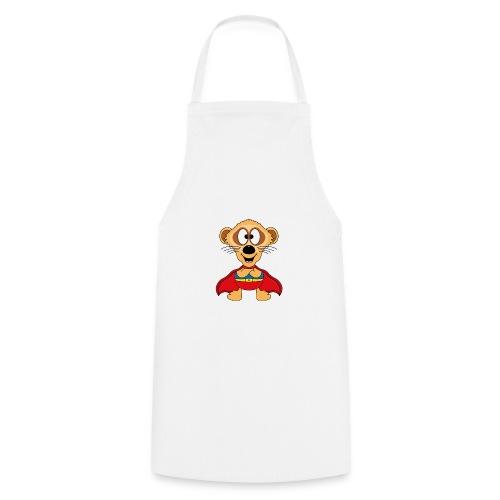 Erdmännchen - Superheld - Kind - Baby - Tier - Kochschürze