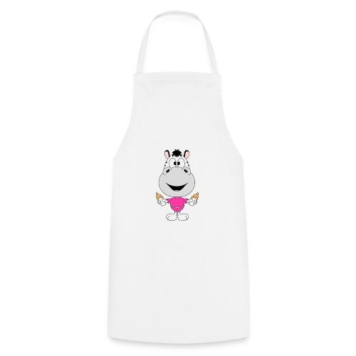 Zebra - Baby - Nachwuchs - Fläschchen - Milch - Kochschürze