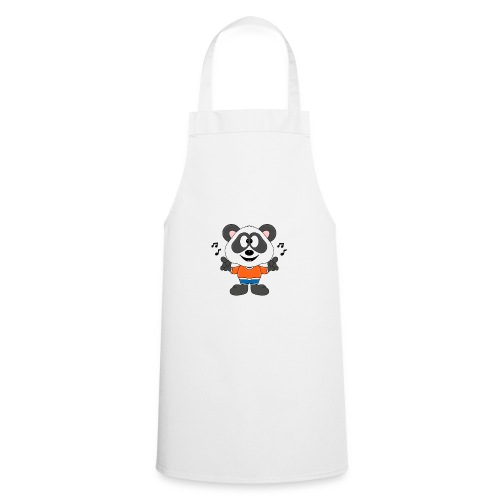 Panda - Bär - Musik - Kind - Tier - Baby - Kochschürze