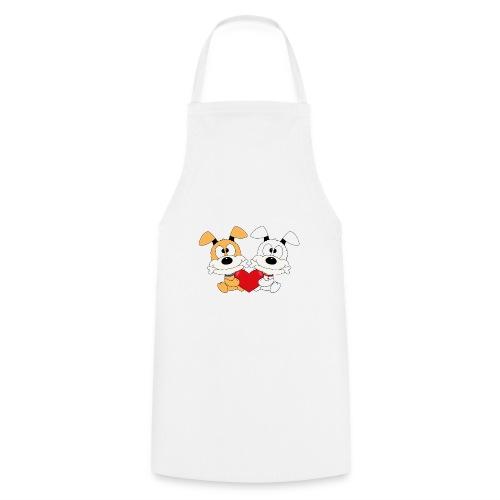 Hunde - Herz - Liebe - Love - Kind - Baby - Tier - Kochschürze