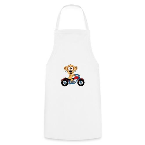 Erdmännchen - Motorrad - Biker - Kind - Baby - Kochschürze