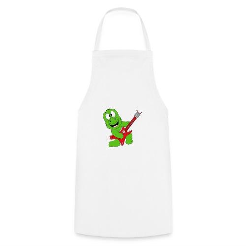 Gecko - Echse - Musik - Gitarre - Liebe - Fun - Kochschürze