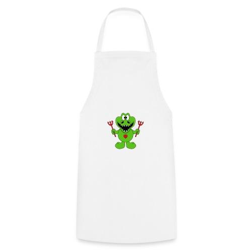 Krokodil - Teufel - Kind - Baby - Tier - Fun - Kochschürze