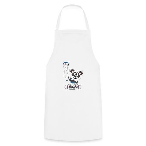 Panda - Bär - Kite - Kitesurfer - Kitesurfen - Fun - Kochschürze
