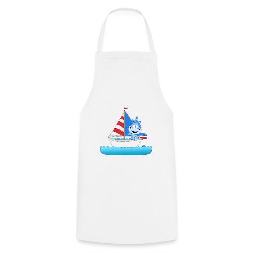 Einhorn - Segeln - Boot - Schiff - Kapitän - See - Kochschürze