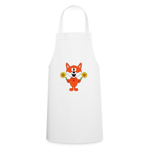 Fuchs - Sonnenblumen - Kinder - Tier - Baby - Kochschürze