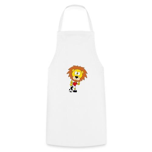 Löwe - Fußball - Kind - Sport - Baby - Tier - Fun - Kochschürze