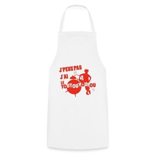 JPEUXPAS ROUGE - Tablier de cuisine