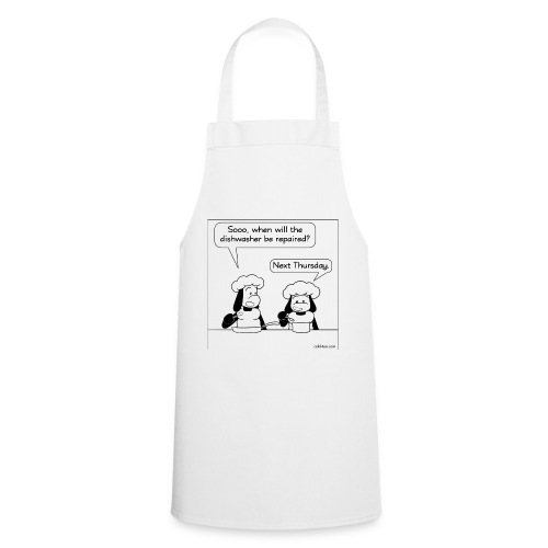 dirty dishes - Cooking Apron