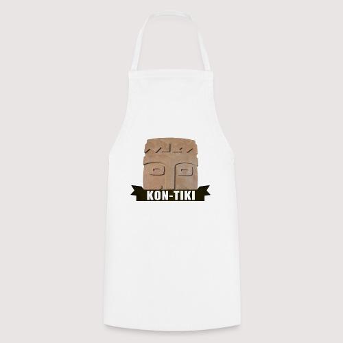 Kon-Tiki, legendärer Gott der Osterinsel! Motiv 2 - Kochschürze