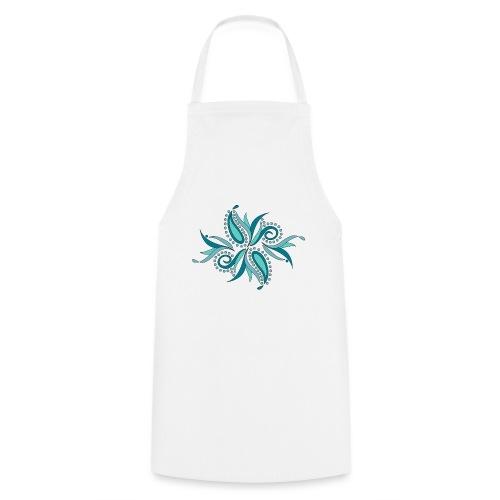 petali e foglie astratte - Grembiule da cucina