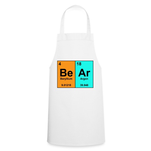 Science Bear Tee - Cooking Apron