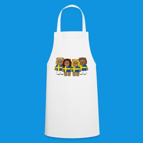 Abba Sweden Bears.png - Cooking Apron