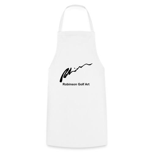 Robinson Black Logo - Cooking Apron