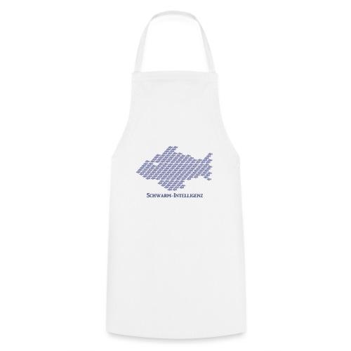 Schwarmintelligenz (Premium Shirt) - Kochschürze