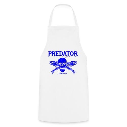 Predator fishing blue - Kochschürze
