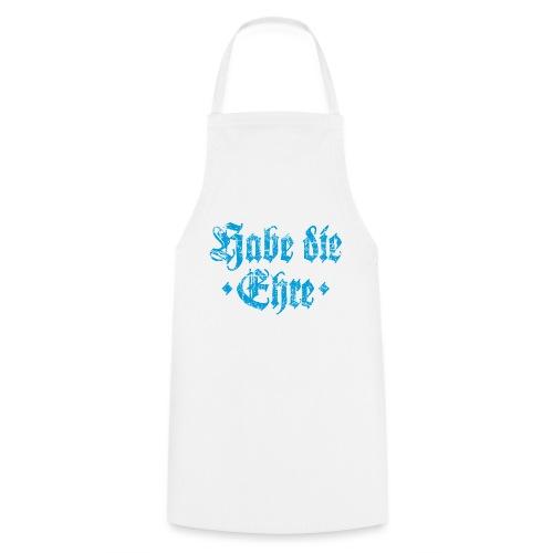Habe die Ehre (Vintage/Hellblau) - Kochschürze
