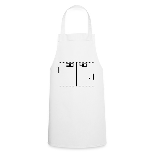old school tennis game - Cooking Apron