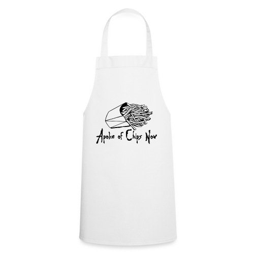 A Poke of Chips Now - Cooking Apron