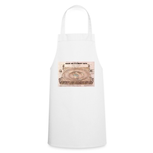 Earth in a square - Cooking Apron
