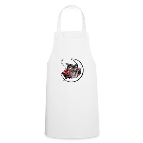 Owl With Coffee - Cooking Apron