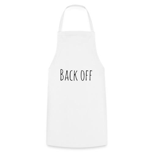 back off - Keukenschort