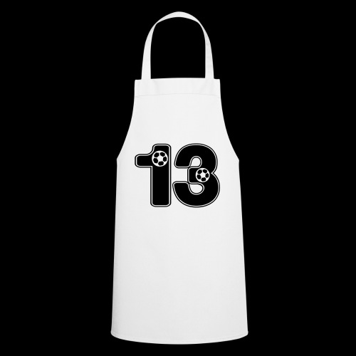 foot numero 13 - Cooking Apron