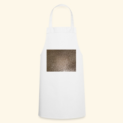 Gold Glitzer als Geschenkidee - Kochschürze