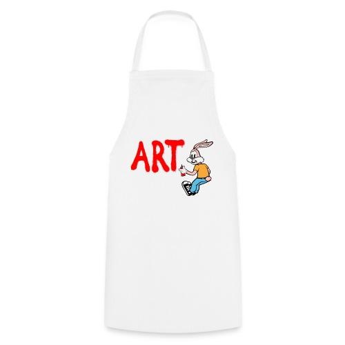 Serge Le Lapin graffeur - Tablier de cuisine