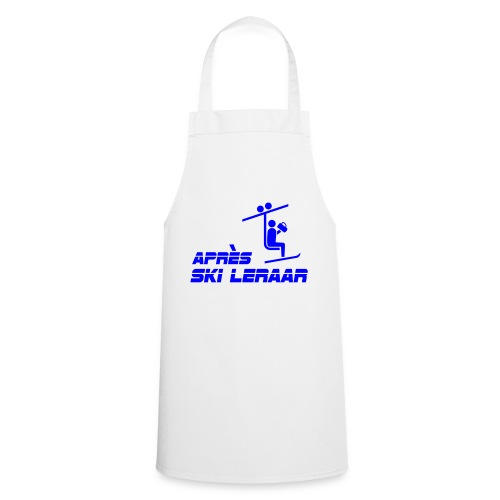 apres ski leraar - Keukenschort