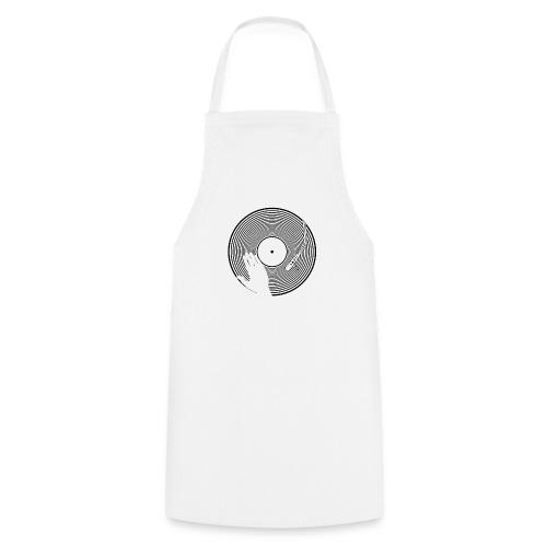 GIRADISCHI T SHIRT BIANCA - Grembiule da cucina