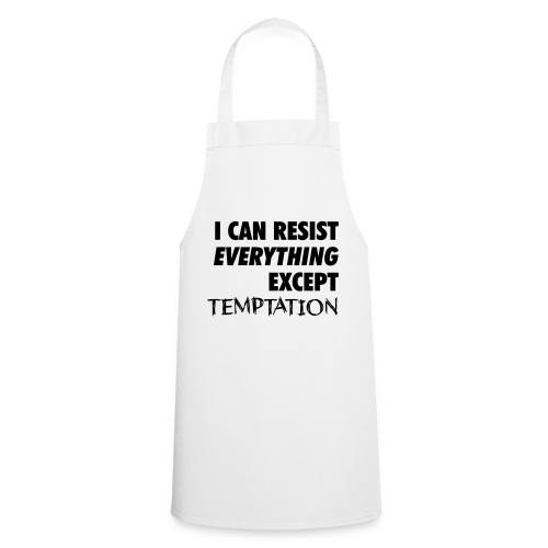 Resist Temptation - Cooking Apron