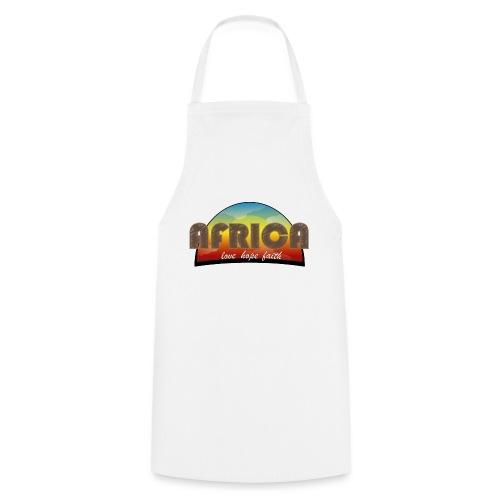 Africa_love_hope_and_faith - Grembiule da cucina