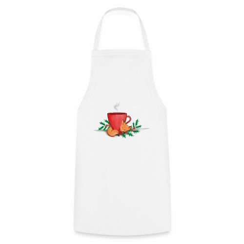 Świąteczny lisek - Fartuch kuchenny