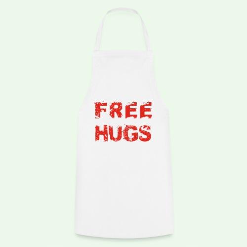 Free Hugs // Flirten // T-Shirt - Kochschürze