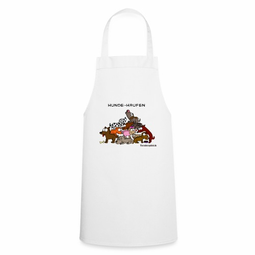 Hundehaufen - Kochschürze
