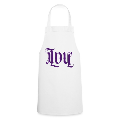Love and hate - Cooking Apron
