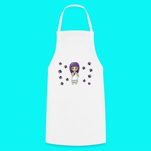Chibi fille fleur - Tablier de cuisine