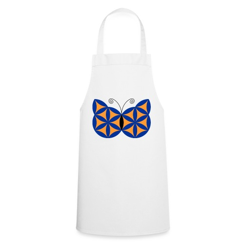 The Butterfly Of Life - Sacred Animals - Cooking Apron